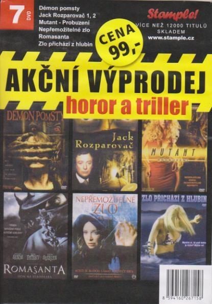 Kolekce Akční výprodej - Horor a thriller 7DVD