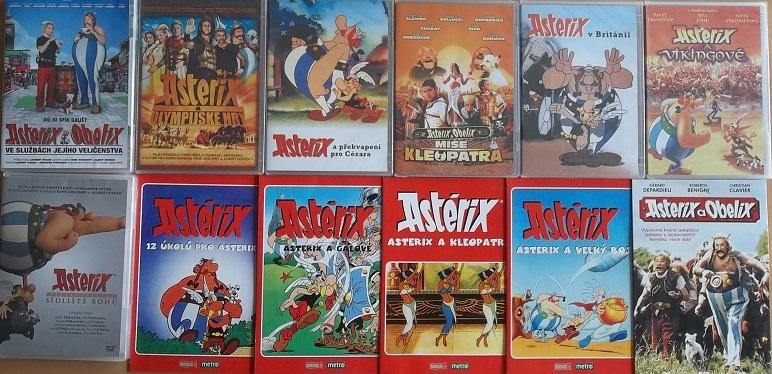 Velká kolekce Asterix a Obelix - 12 DVD
