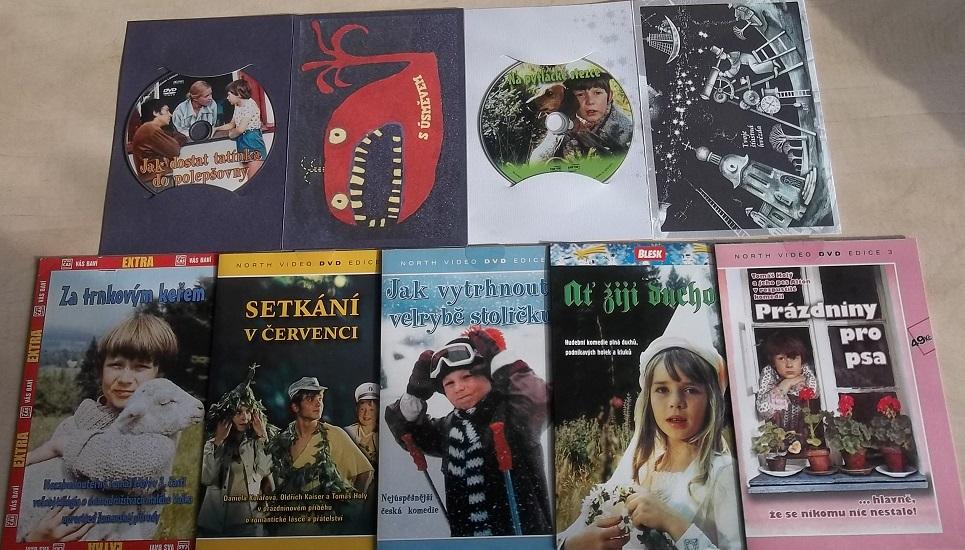 Kolekce Tomáš Holý - 7 DVD