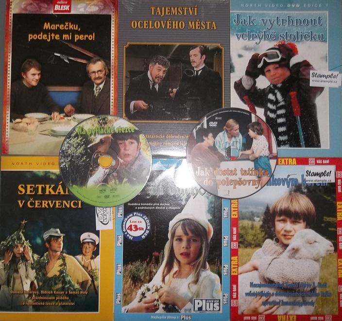 Kolekce Tomáš Holý - 8 DVD