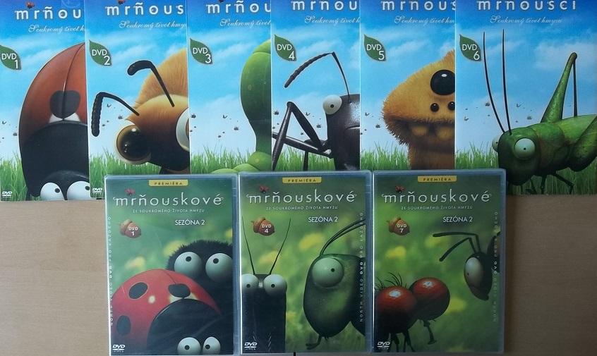 Velká Kolekce Mrňousci 9 DVD