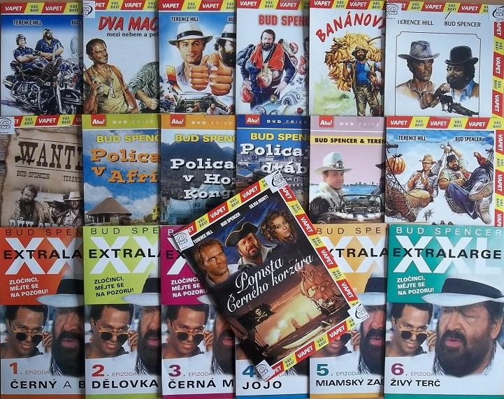 Velká kolekce filmů Bud Spencer - 19 DVD