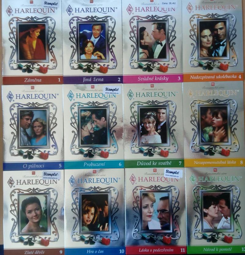 Kolekce Harlequin 12DVD