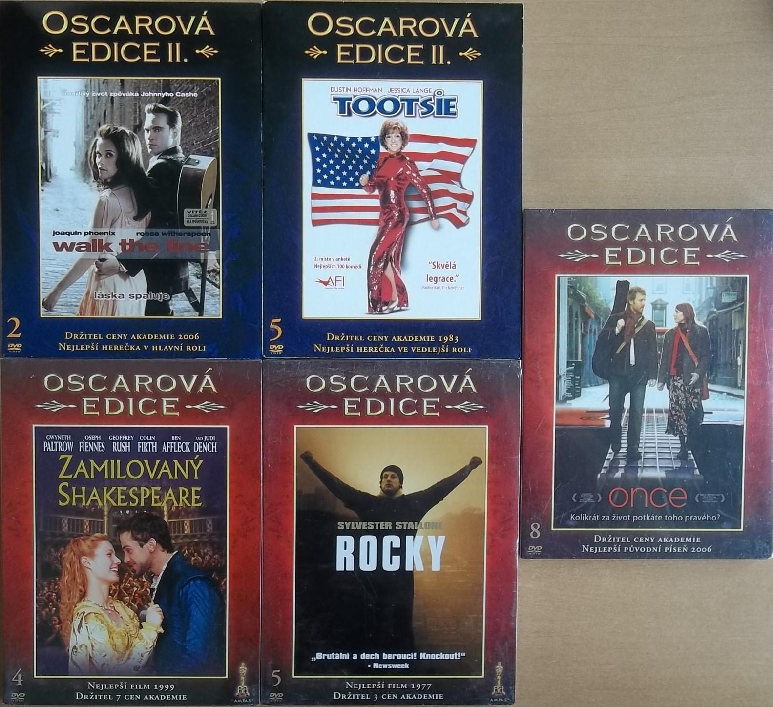 Oscarová edice - 5 DVD