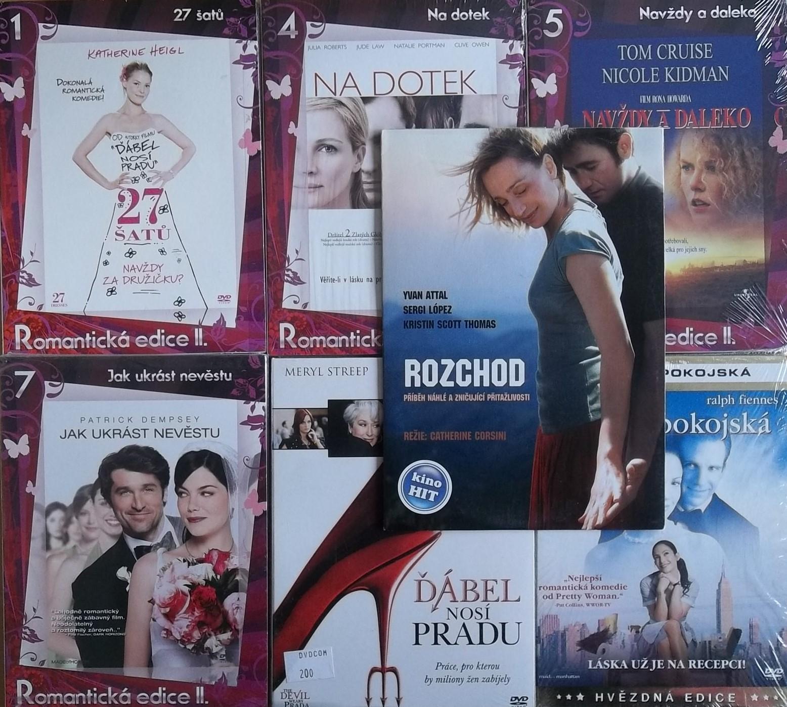 Romantická Edice - 7DVD