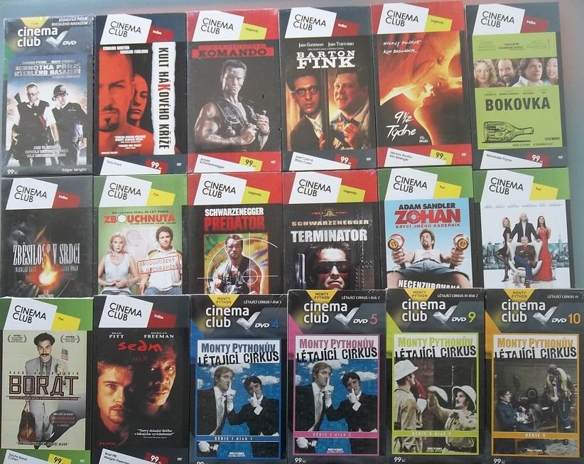Kolekce Cinema club - 18 DVD