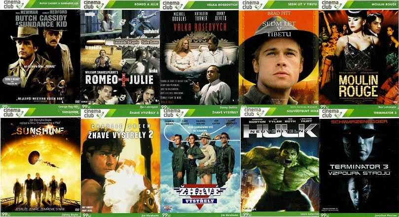 Edice Cinema club 2 - 10 DVD