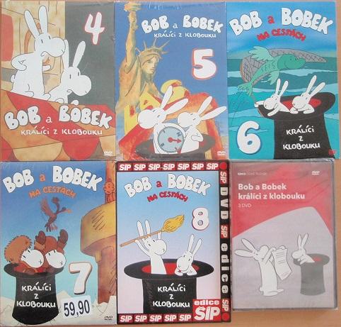Kolekce  Bob a Bobek - 8 DVD