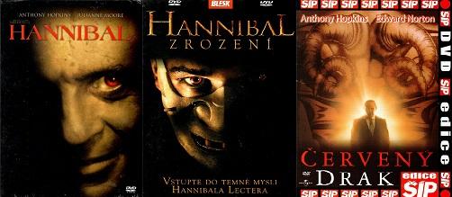 Kolekce Hannibal - 3x DVD