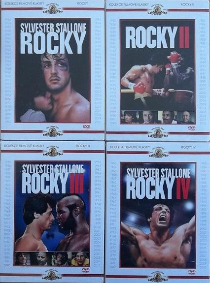 Kolekce Rocky 4DVD