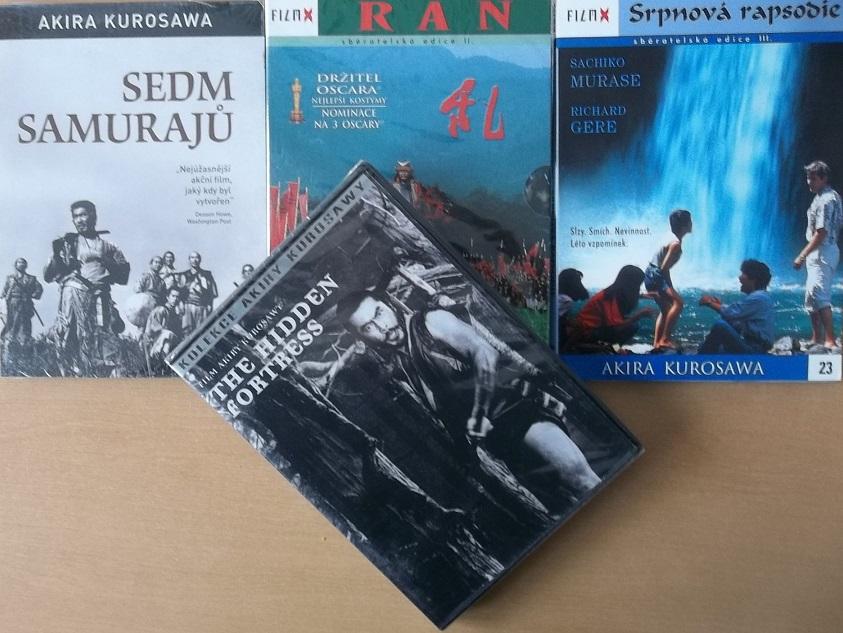 Kolekce Akira Kurosawa - 4 DVD