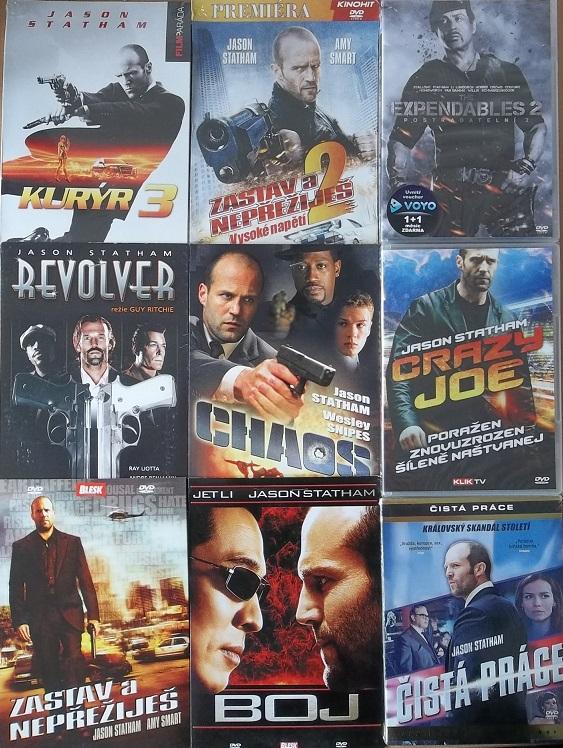 Kolekce Jason Statham - 9 DVD