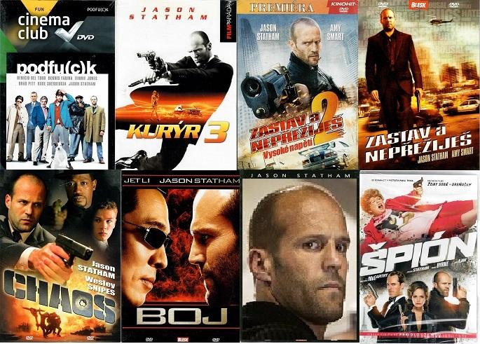 Kolekce Jason Statham - 7 DVD