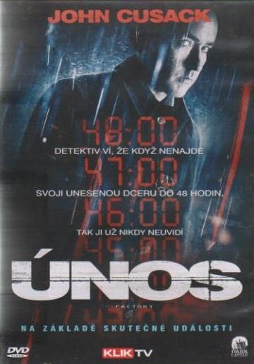 Únos - John Cusack ( plast ) - DVD