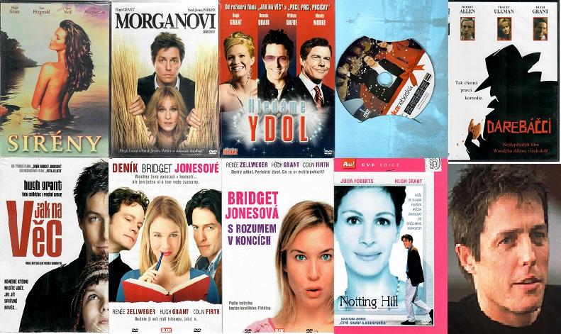 Kolekce Hugh Grant - 9x DVD