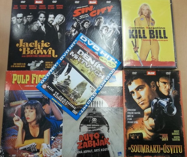 Kolekce Quentin Tarantino - 7 DVD