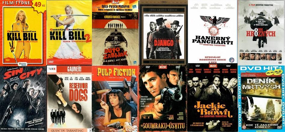 Kolekce Quentin Tarantino - 12 DVD