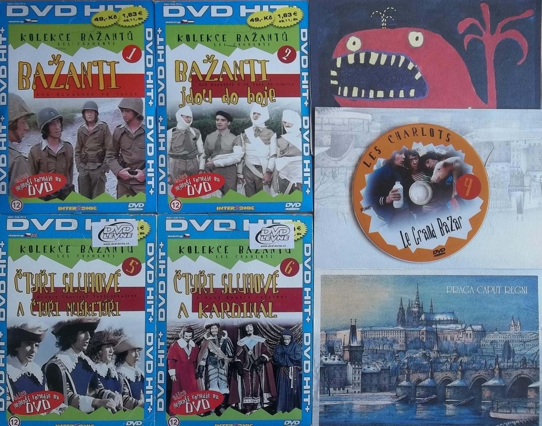 Kolekce Bažantů - 6 DVD