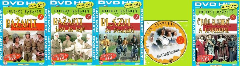 Kolekce Bažanti  5 DVD ( nekompletní, chybí disk č. 4 )