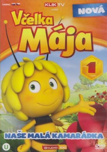 Nová včelka Mája 1 ( plast ) DVD