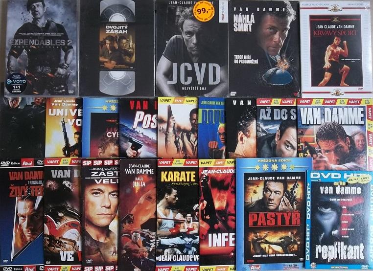 Velká kolekce Jean-Claude Van Damme - 23 DVD