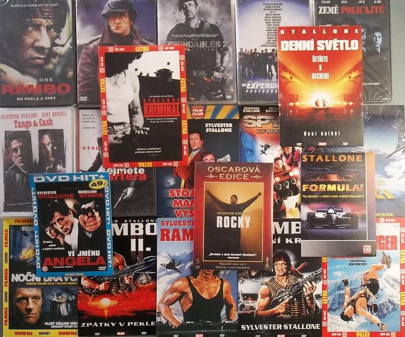 Velká kolekce Sylvestr Stallone - 20 DVD