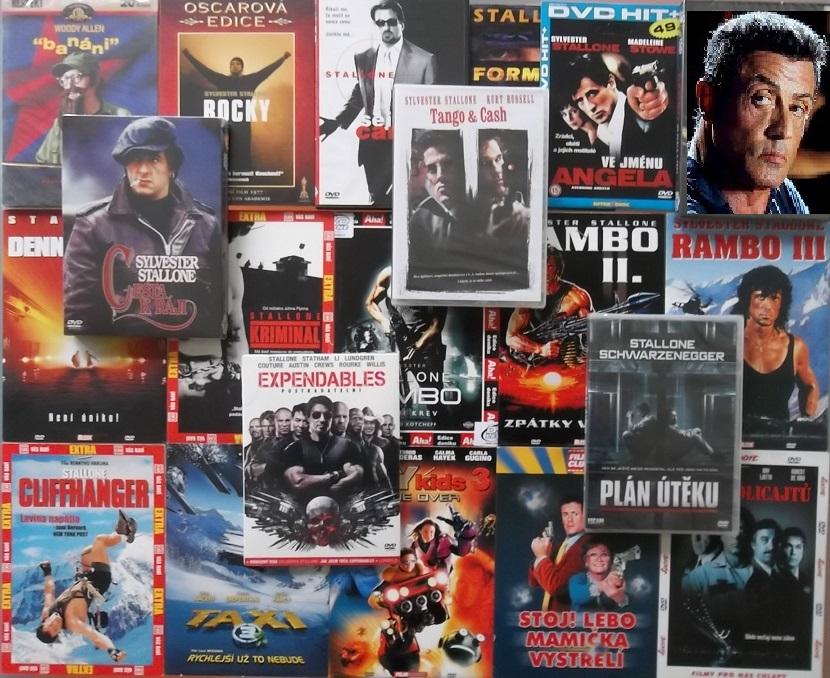 Velká kolekce Sylvestr Stallone - 19 DVD
