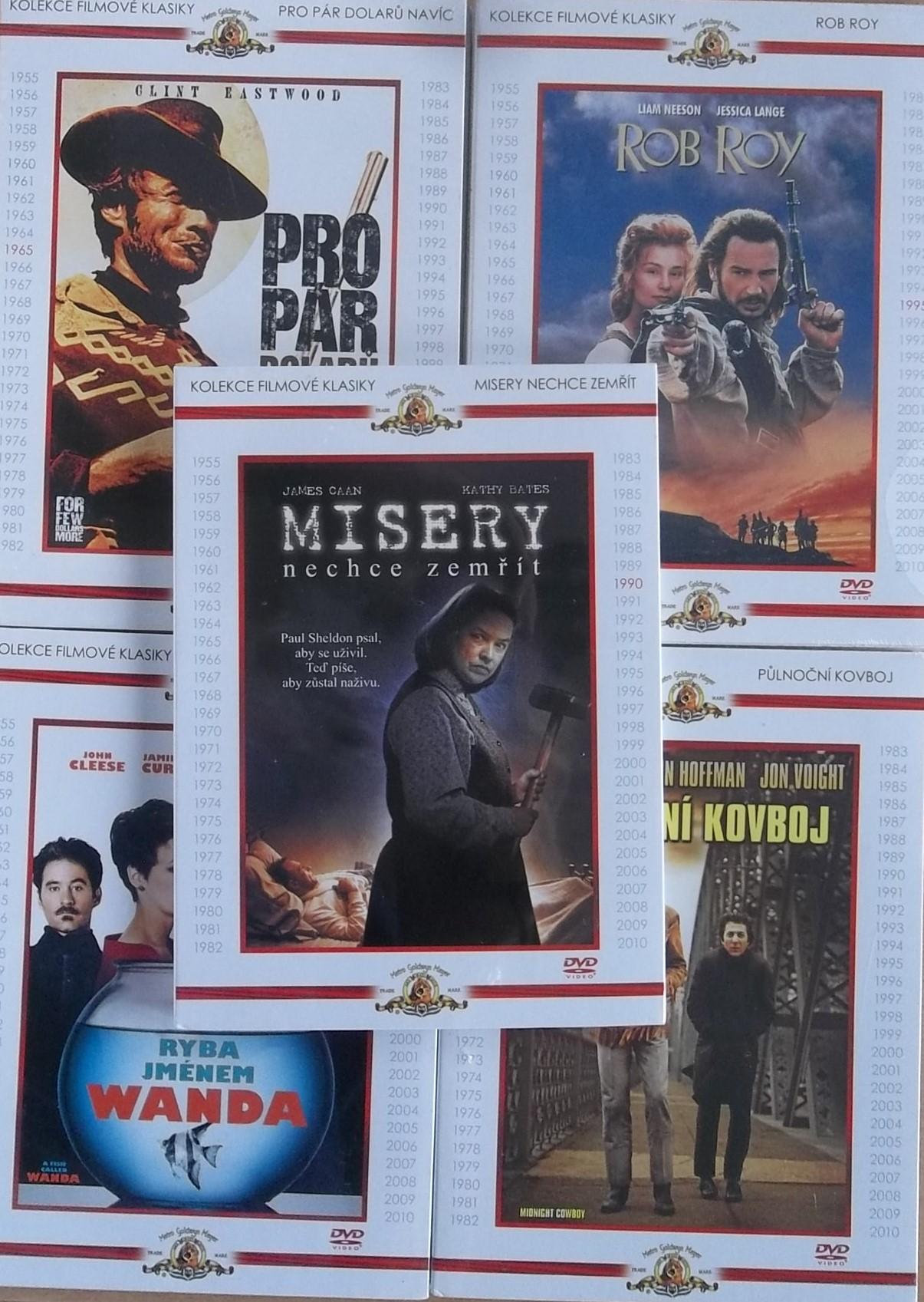 Kolekce filmové klasiky -5 DVD