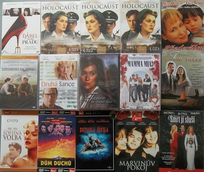 Kolekce Meryl Streep - 15 DVD