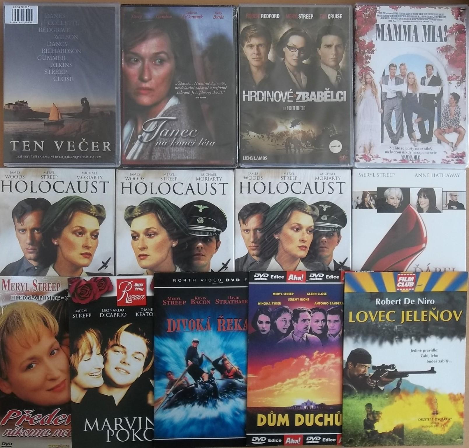 Kolekce Meryl Streep - 13 DVD