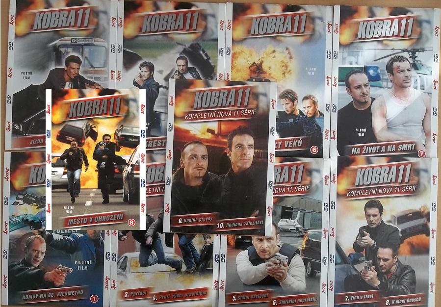 Kolekce Kobra 11 - 10 DVD ( nekompletní )