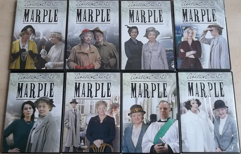 Kolekce Marple -8 DVD (Nekompletní série)