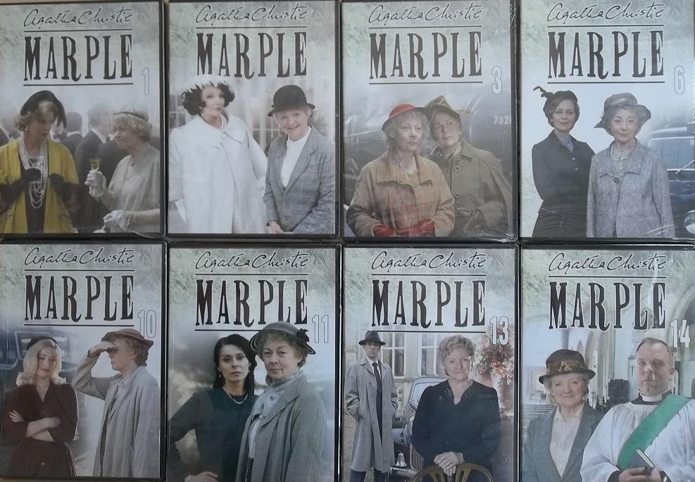 Kolekce Marple - 8 DVD (Poslední 1kus kolekce)