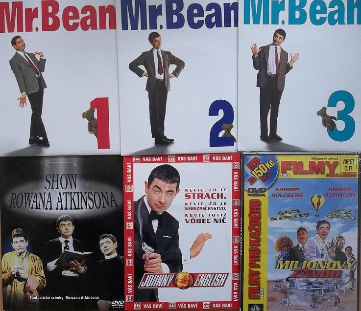 Kolekce Mr Bean - Rowan Atkinson - 6 DVD