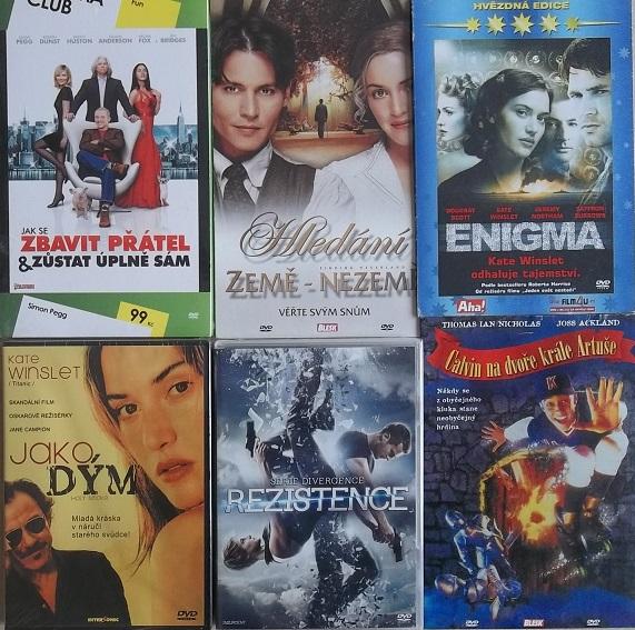 Kolekce Kate Winslet - 6 DVD