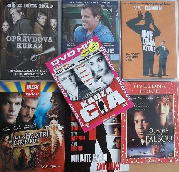 Kolekce Matt Damon - 6 DVD