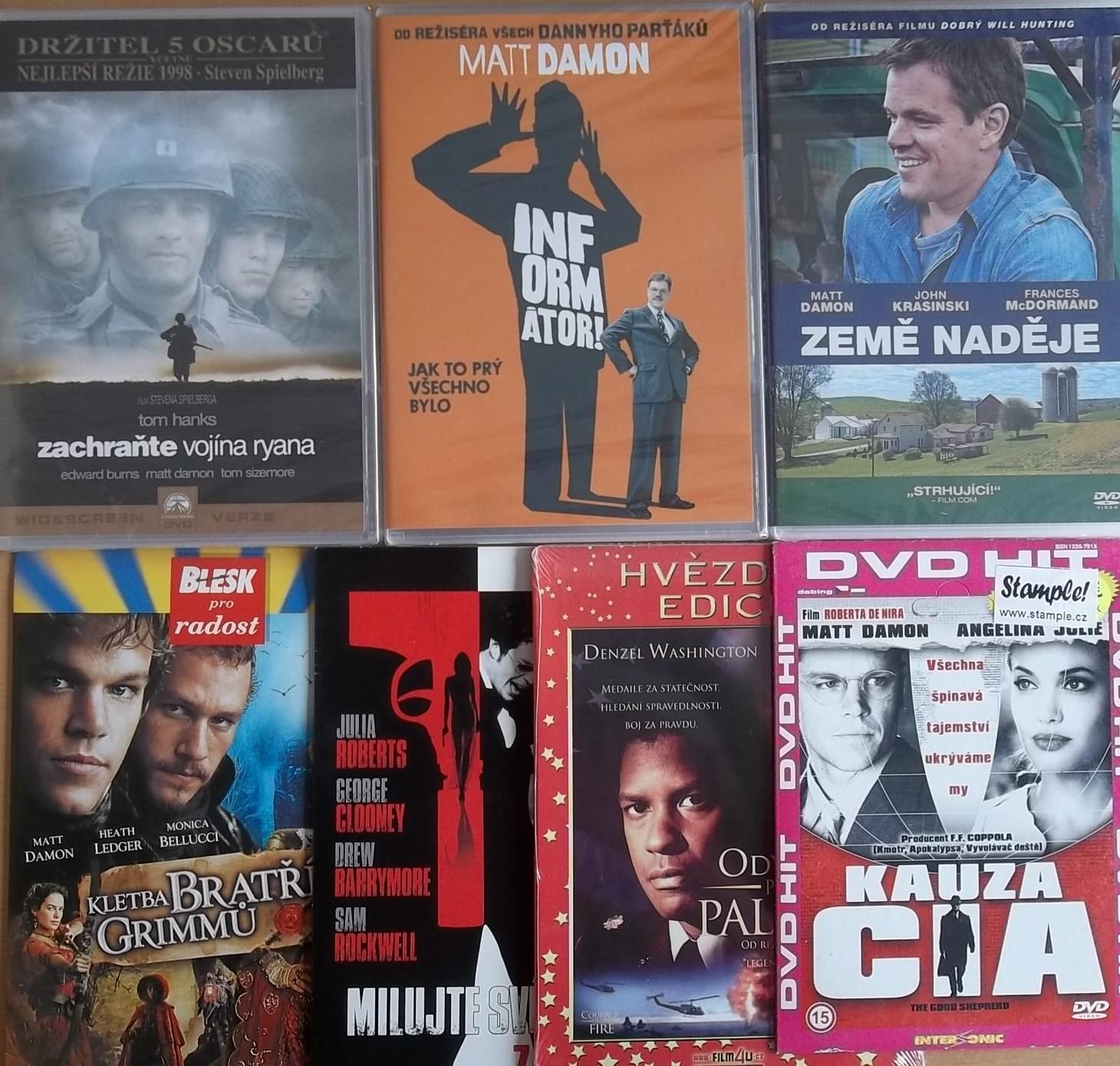 Kolekce Matt Damon - 7DVD