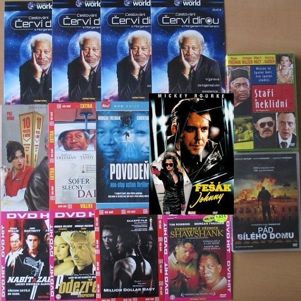 Velká kolekce Morgan Freeman - 13 DVD