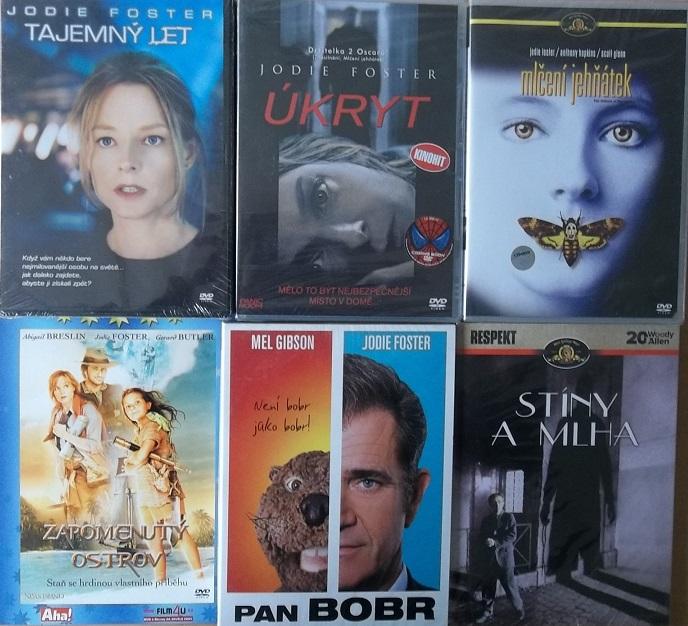 Kolekce Jodie Foster - 6 DVD