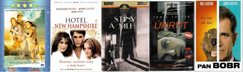 Kolekce Jodie Foster - 5 DVD