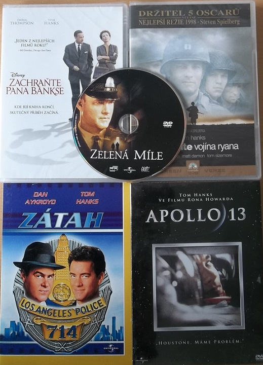 Kolekce Tom Hanks - 5 DVD