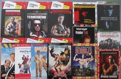 Velká kolekce Arnold Schwarzenegger - 14 DVD