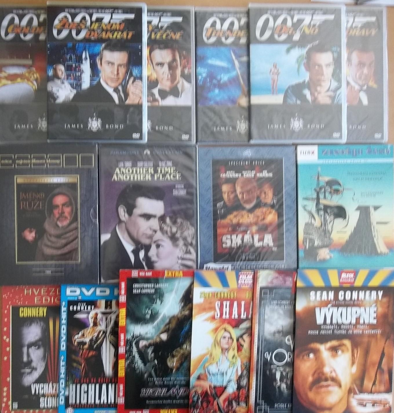 Kolekce Sean Connery - 16 DVD