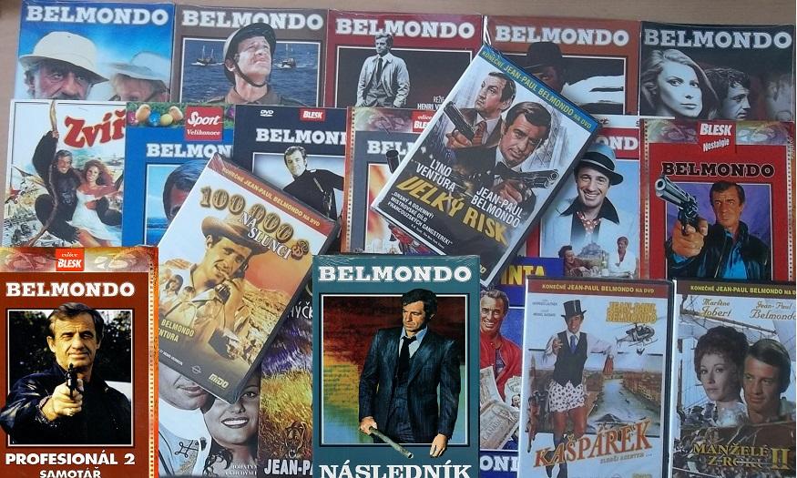 Velká kolekce Jean-Paul Belmondo - 17 DVD