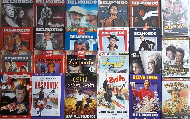 Velká kolekce Jean-Paul Belmondo - 22 DVD