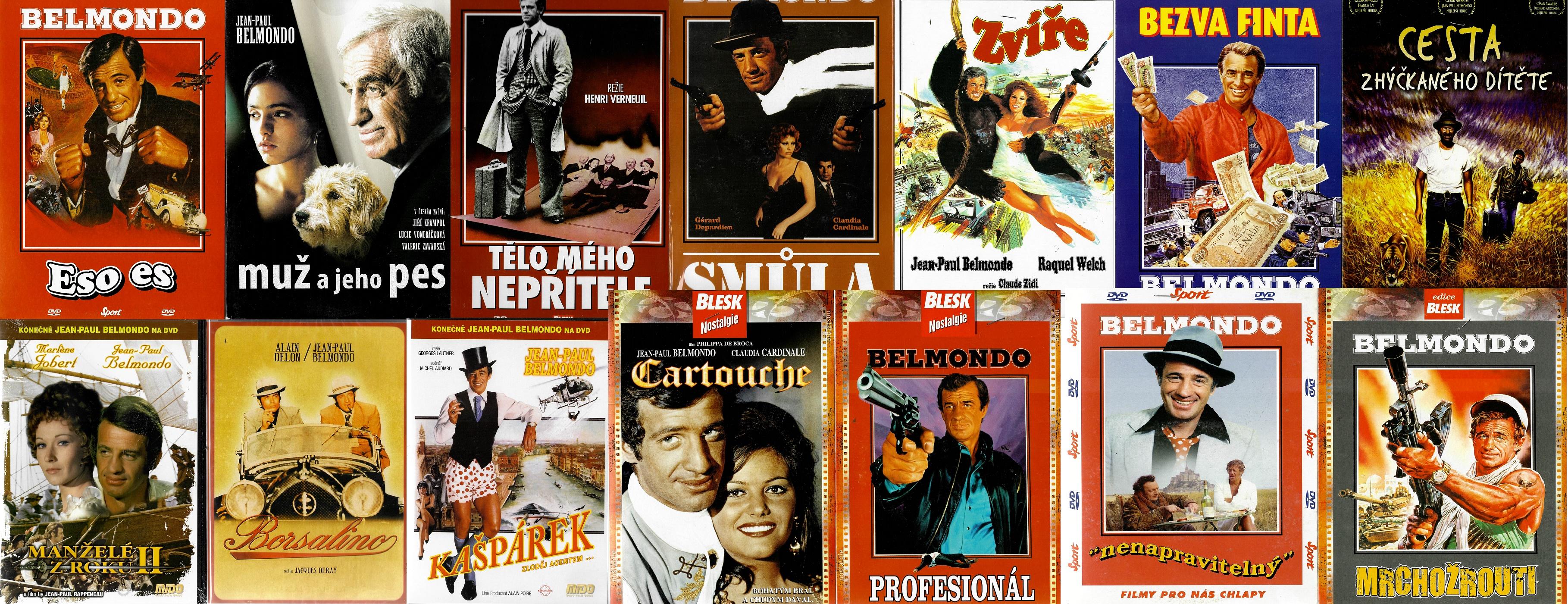 Velká kolekce Jean-Paul Belmondo - 14 DVD