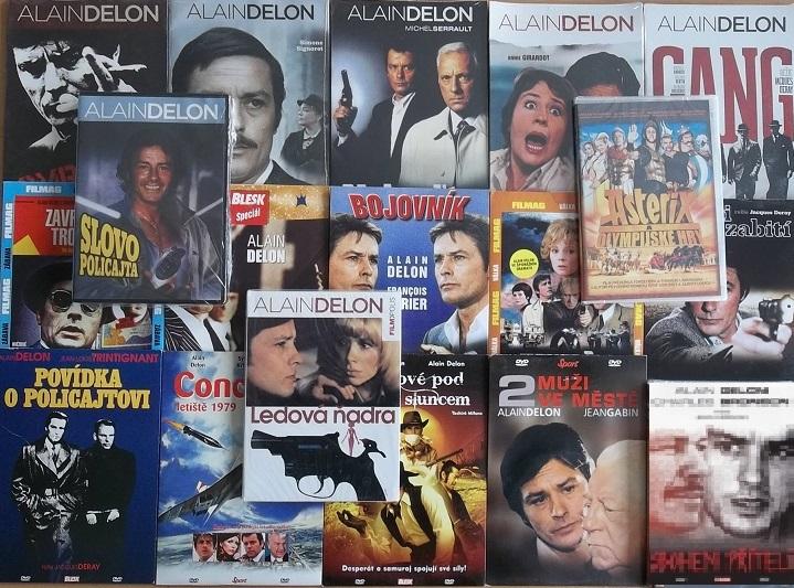 Velká kolekce Alain Delon - 19 DVD