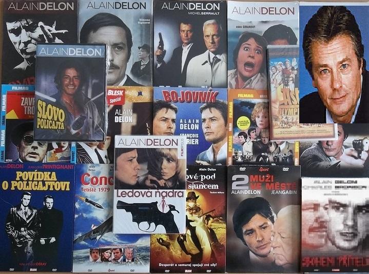 Velká kolekce Alain Delon - 18 DVD