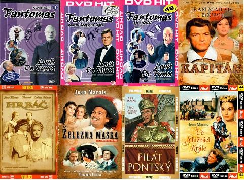 Kolekce Jean Marais - 8 DVD