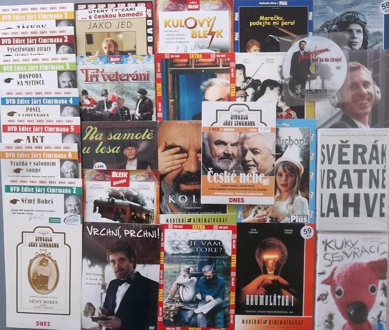 Kolekce Zdeněk Svěrák - 26 DVD